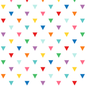 rainbow triangles XL