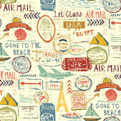 Travel Stamps and Tags
