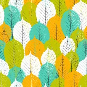 forest of chestnut leaf