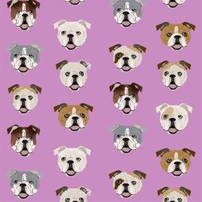 english bulldogs faces cute english bulldog fabric dog fabric dog lovers fabrics