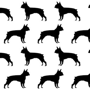 boston terrier silhouette dog fabric cute boston terriers fabric cute boston terrier fabric