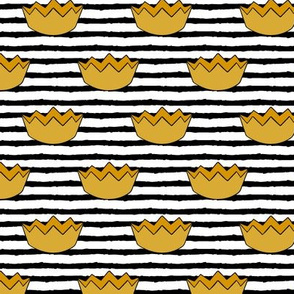 crowns || black stripes