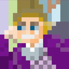 Gene Wilder Pixel Art