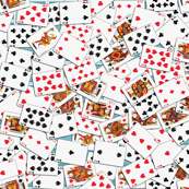 Playing Cards Pattern - Blue Backs