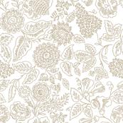 Rococo Flowers 1b