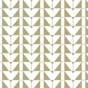 Geometric Triangels, beige