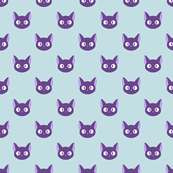 Cute Anime Cats - Jiji Inspired small print