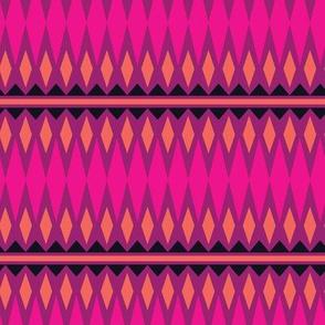 Tribal Band Peruvian Pink