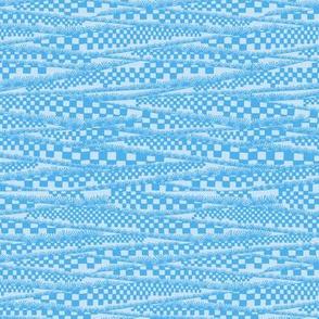 flute player blue