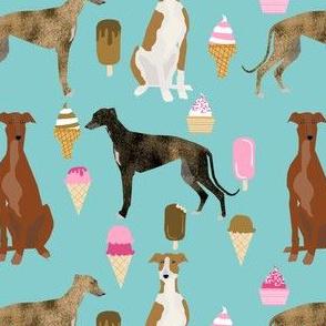 greyhound fabrics cute dog ice creams fabric best greyhounds fabric cute dogs dog fabric