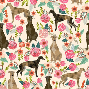 brindle greyhounds fabric cute fabrics florals fabric cute best brindle fabrics best florals fabric