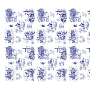 Blue_toile_dish_towel