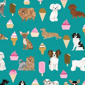 dogs ice cream cute dog fabric best dog ice cream food fabrics cute dog design