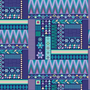 Aztec Clash Deep Blue