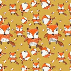 baby foxy (gold)