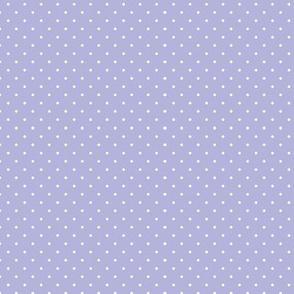 lavender polkadot