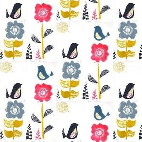Birds 'n' flowers