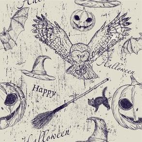 Halloween Wood Cuts