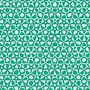 serene green starfish