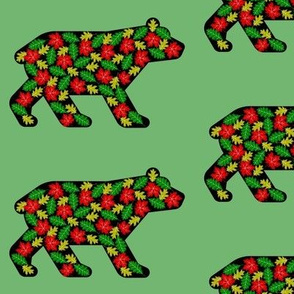 Bears and leaves