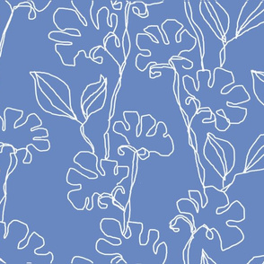 Fresias in Dutch Blue