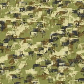 Moder Striped Scratched Grunge Fall Camo Camouflage