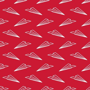 Paper Airplanes (Red)