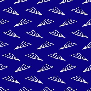 Paper Airplanes (Dark Blue)
