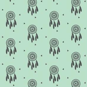 Mint Dream Catcher - Mint Grey Native