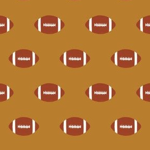 ochre gold fabric football sports fabric sport fabric college football fabric
