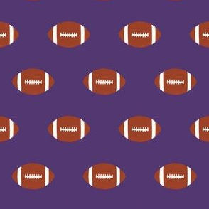 purple football sports team fabric football sports american football purple teams college football
