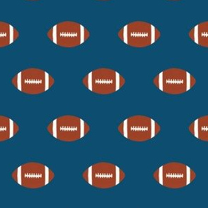 navy blue football fabric kids touchdown sports fabric baby nursery boys fabric