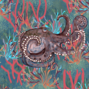 Octopus Pretending to be an Elephant