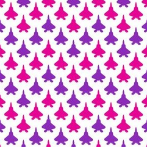 Jet Chevron (Pink and Purple)