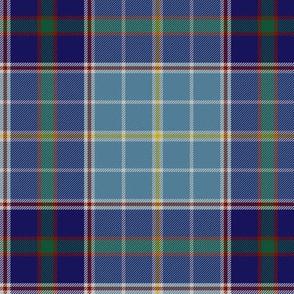 Texas bluebonnet tartan, greyed