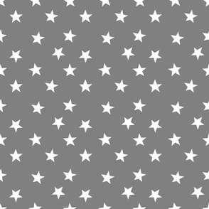 stars grey and white star design football sports kids baby nursery grey stars fabric