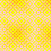 Glowing Dots - Bright Yellow