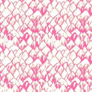 Protea Petals in Dirty Deep Pink