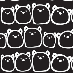 The Gum Bears - Black Background