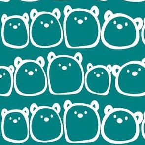 The Gum Bears - Teal