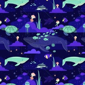 Dream of whales tonight