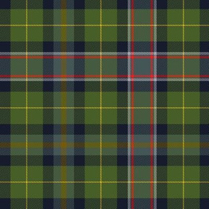 Wisconsin official state tartan, warmer hues