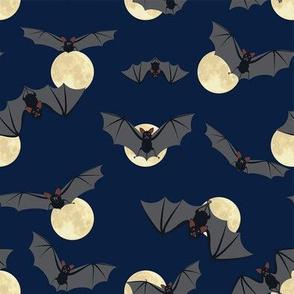 Bats and moon