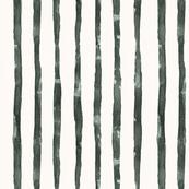WATERCOLOR BLACK & WHITE STRIPE
