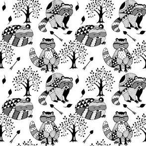 RACCOON_TREE_ARROW_Geometric
