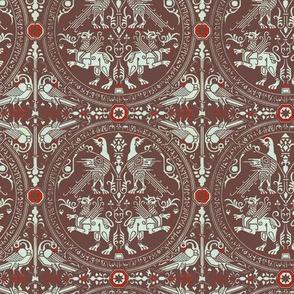 Victorian firebird and dragon