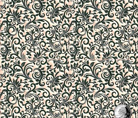 WPR:  Filigree Pattern - Pink Jelly CrvNC  |  Repeat Basic