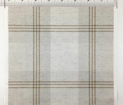 Light Tan Plaid on Fabric Texture