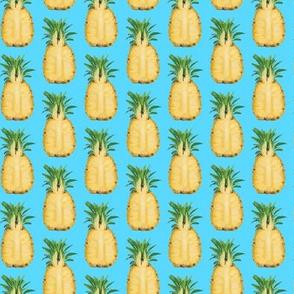 SM Juicy Pineapple on Blue