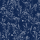 Wildflowers - Navy